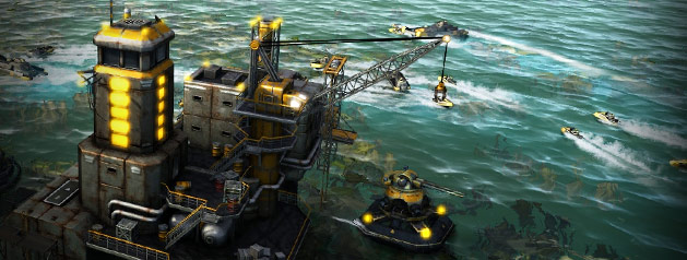 Oil Rush: naval strategy game for Windows, Linux, Mac OS X